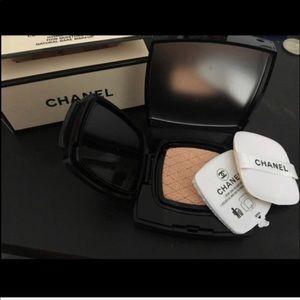 Chanel Limited Edition Cushion CC Cream
